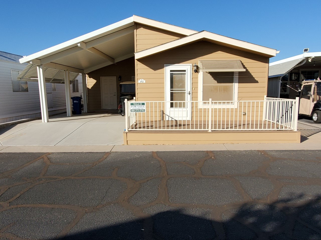Manufactured Home Lot #342
