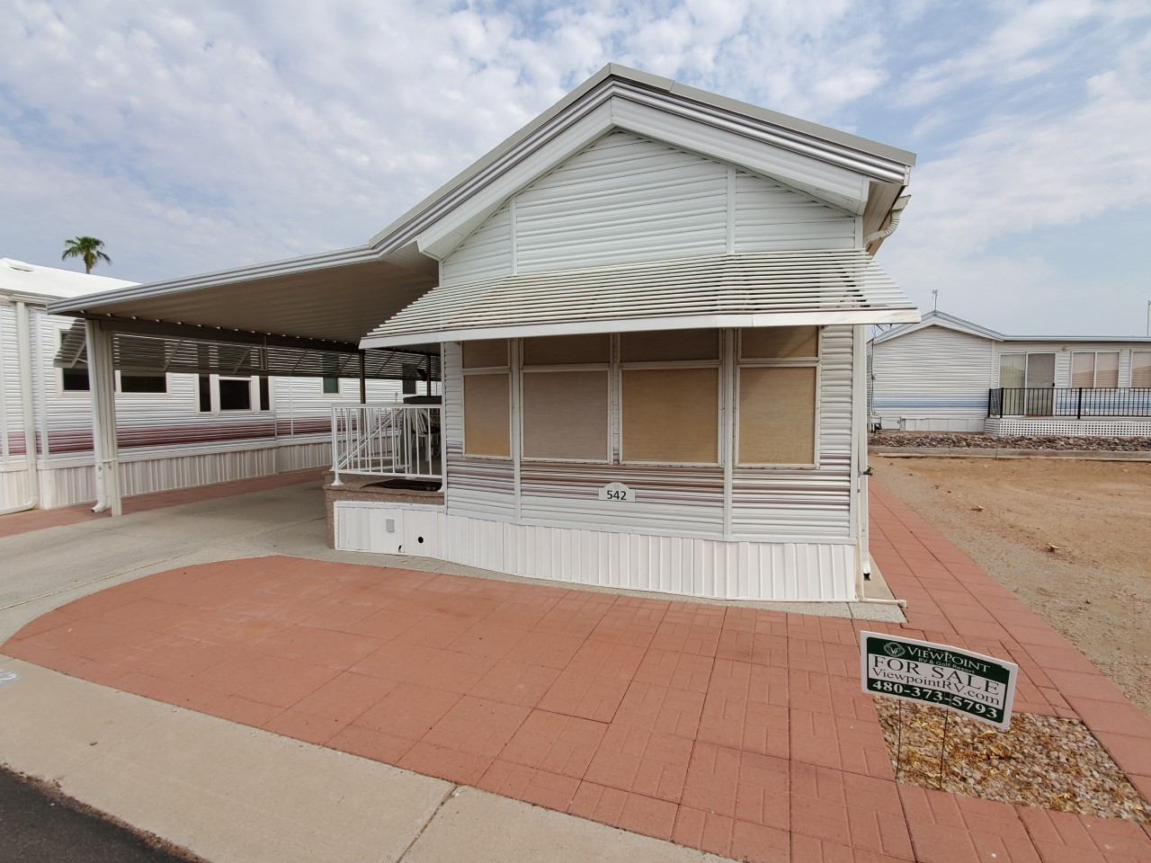 Park Model Home Lot #542