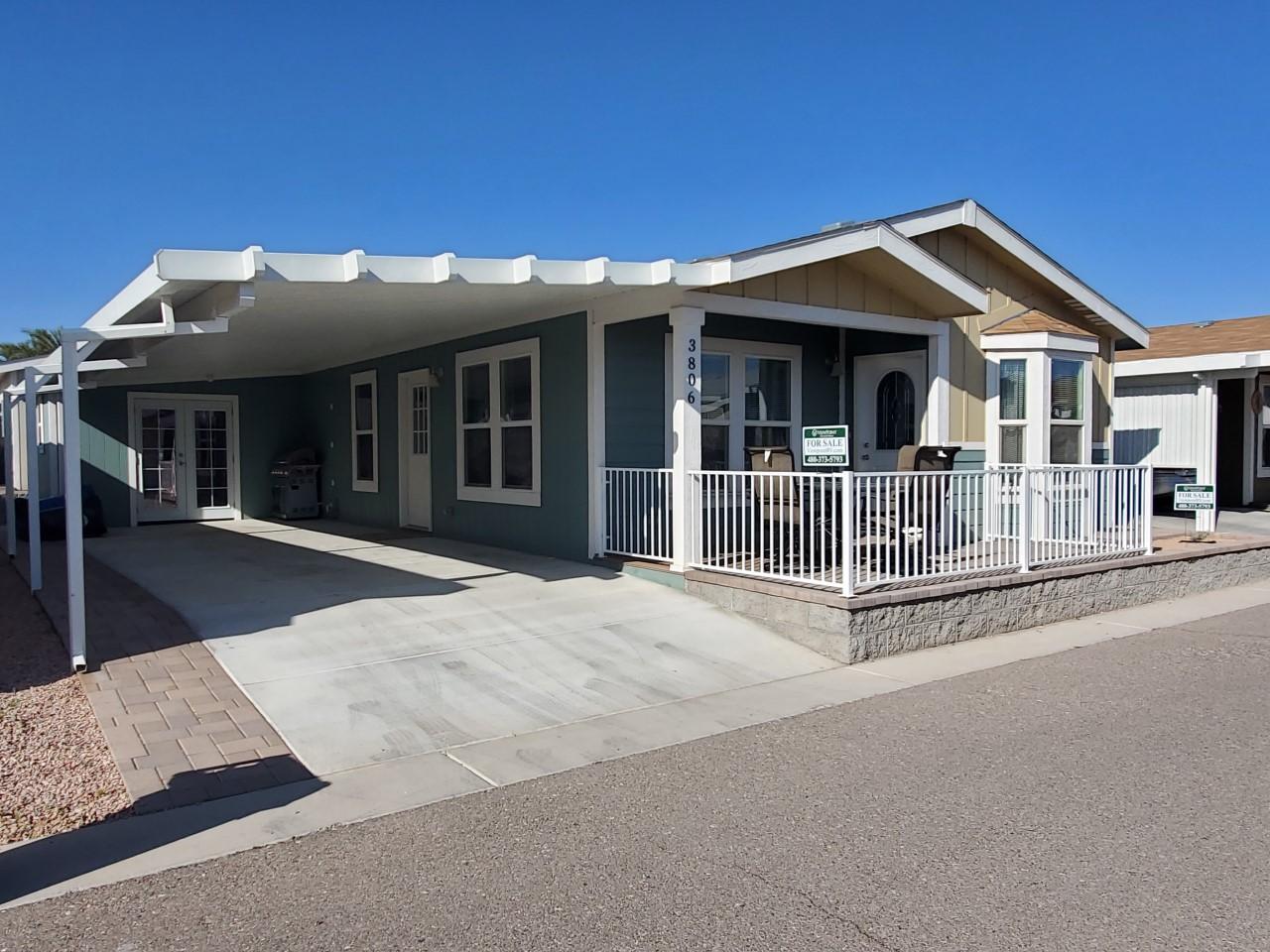 Manufactured Home Lot #3806